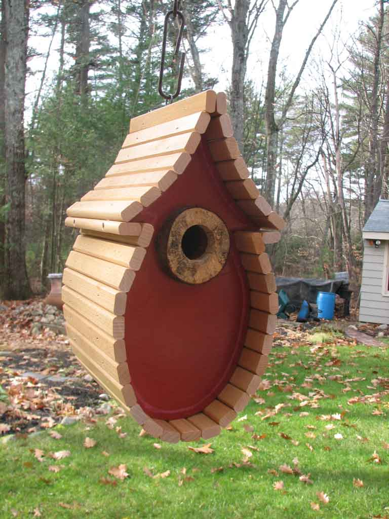 Avian abodes rjm designs unique birdhouses custom for Different types of birdhouses